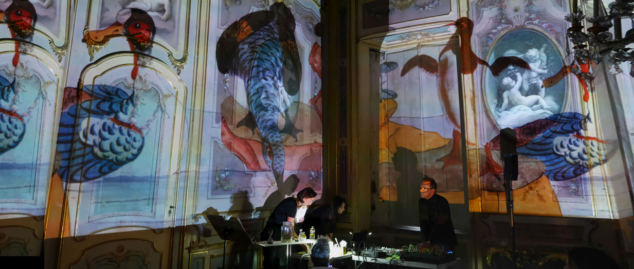 Project To Electronic Music Sound And Visual